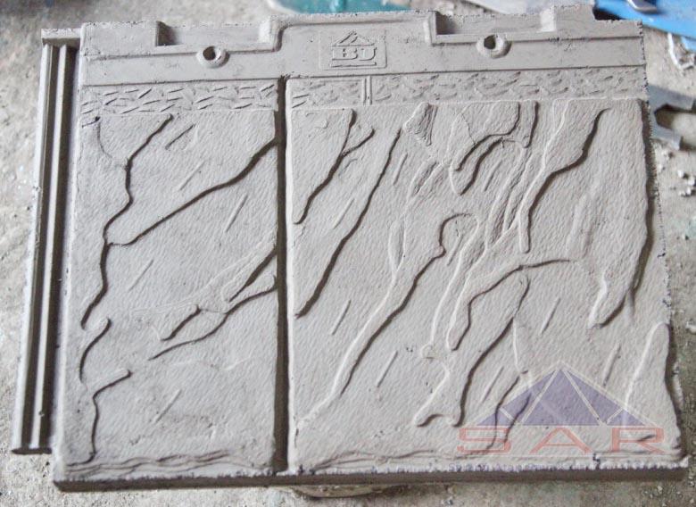 genteng beton flat