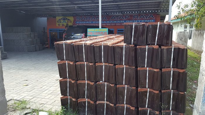 distributor genteng surabaya sarana atap raya