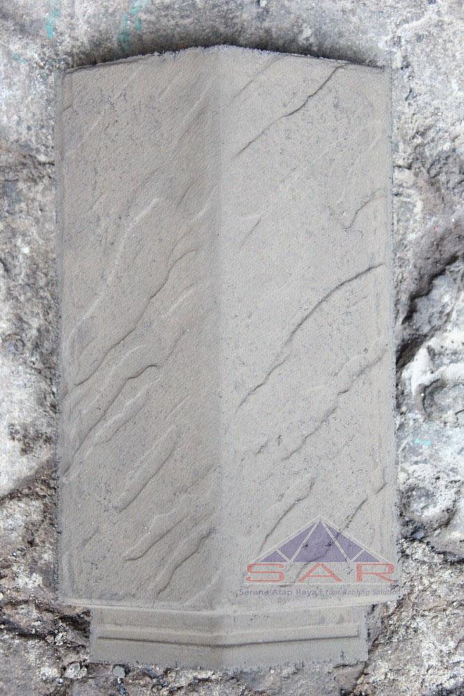 Wuwung Genteng Beton Flat