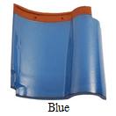 genteng keramik kanmuri blue
