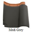 genteng keramik kanmuri medi grey