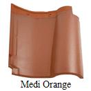 genteng keramik kanmuri medi orange