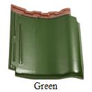 genten keramik kanmuri green