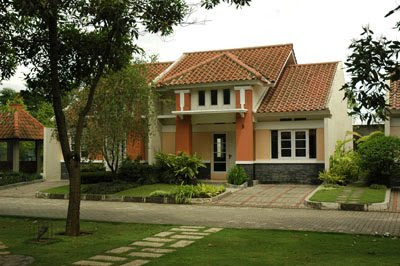 rumah dengan genteng karang pilang bambe surabaya 2