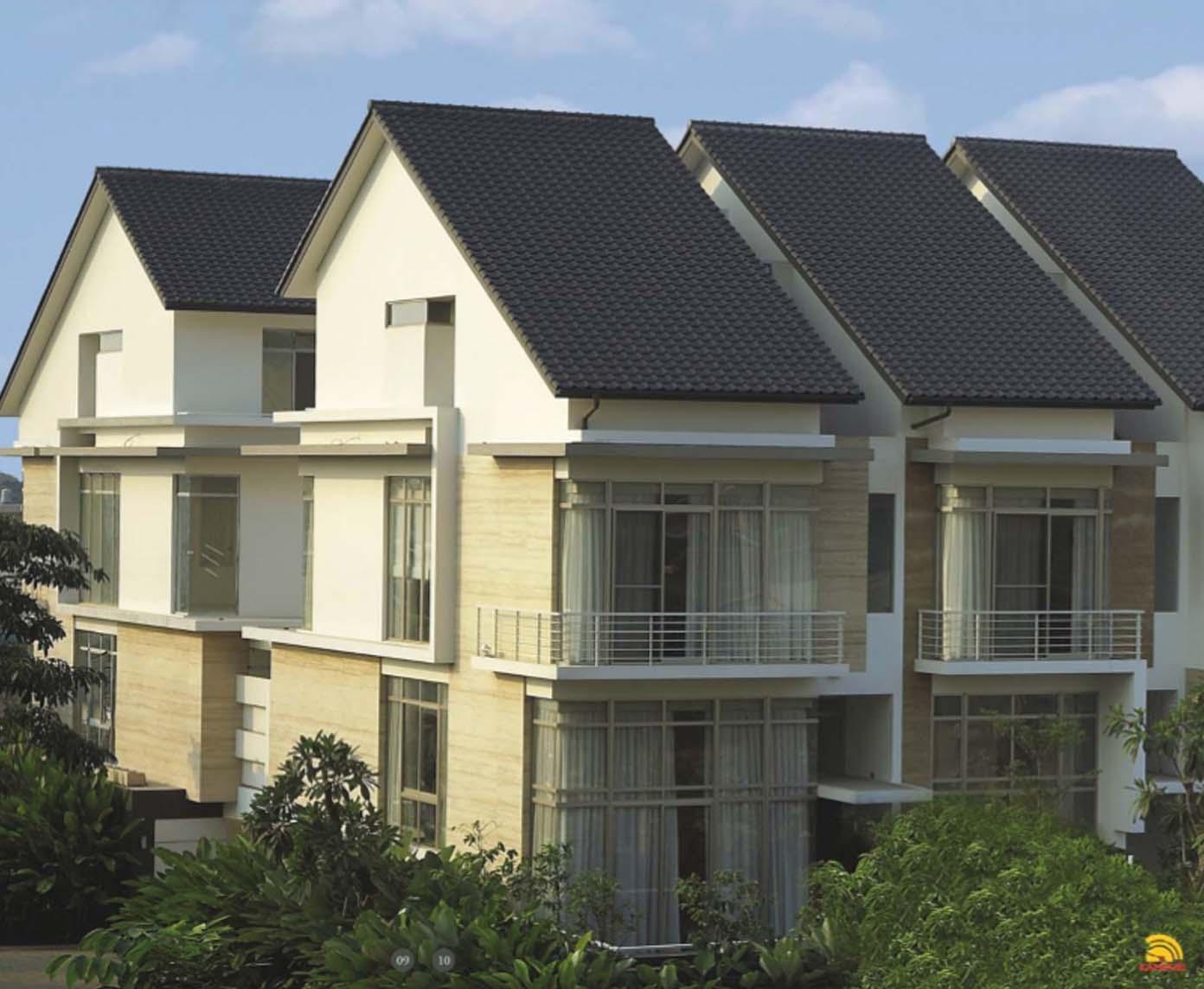 rumah dengan genteng milenio 1