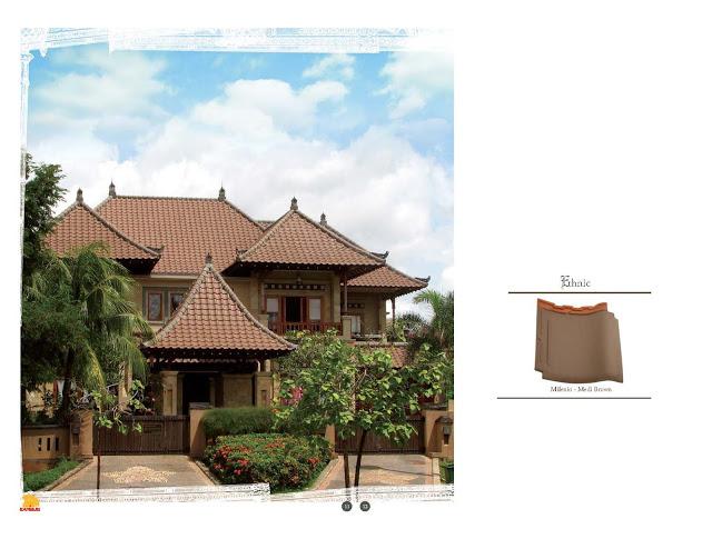 Distributor Genteng Keramik di Bali, GENTENG KERAMIK KANMURI MILENIO