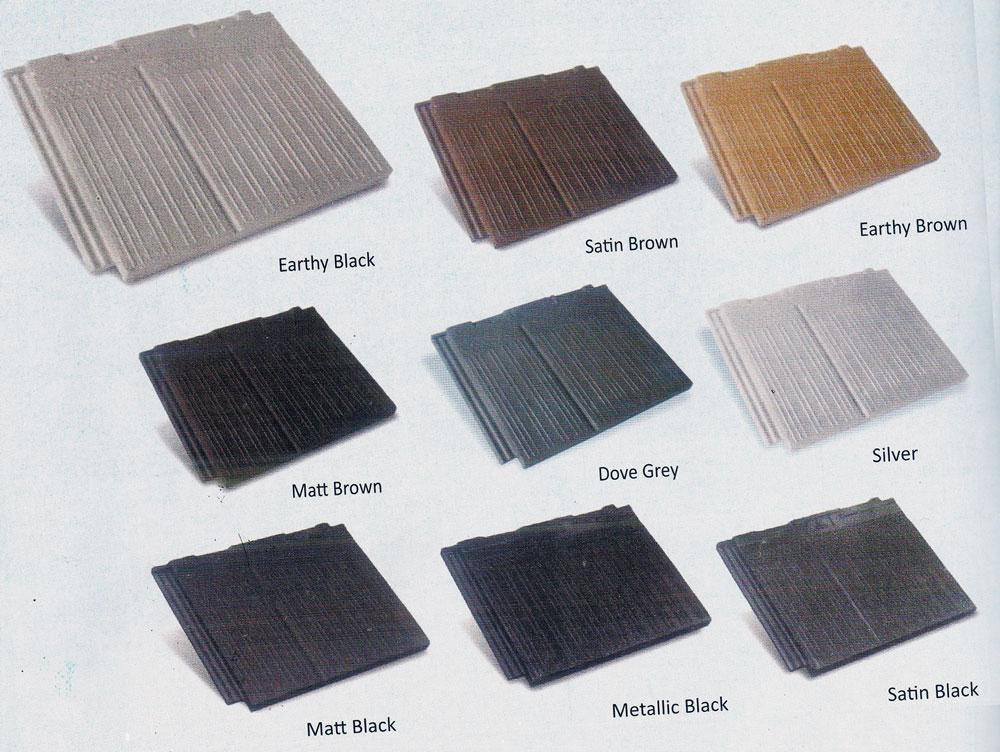 Pilihan Warna Genteng Beton Duco