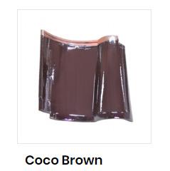 harga genteng kia coco brown
