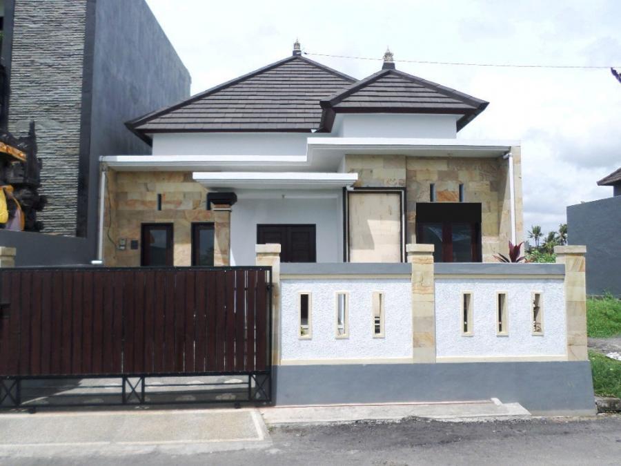 rumah genteng beton flat di denpasar bali