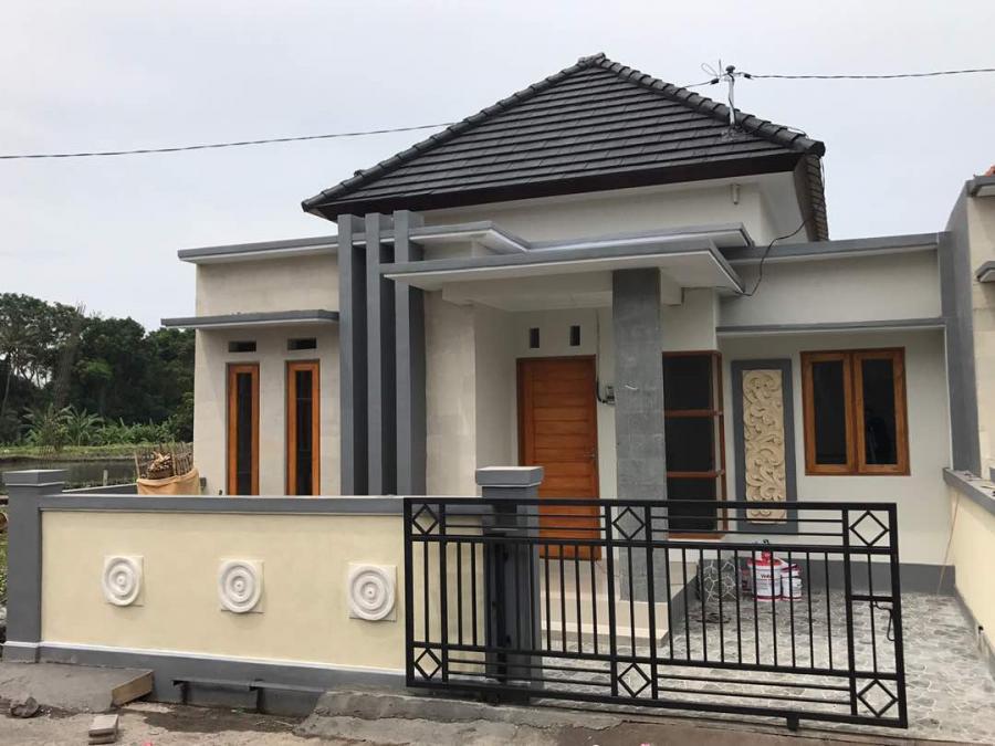 rumah genteng beton flat di gianyar bali