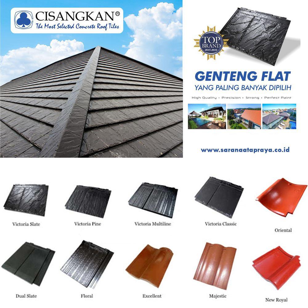 genteng beton cisangkan terbaik sarana atap raya