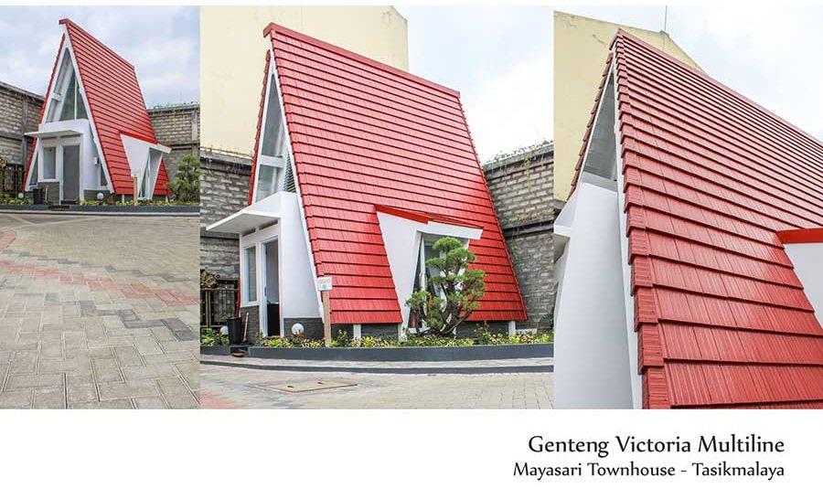 proyek perumahan dengan genteng cisangkan sarana atap raya
